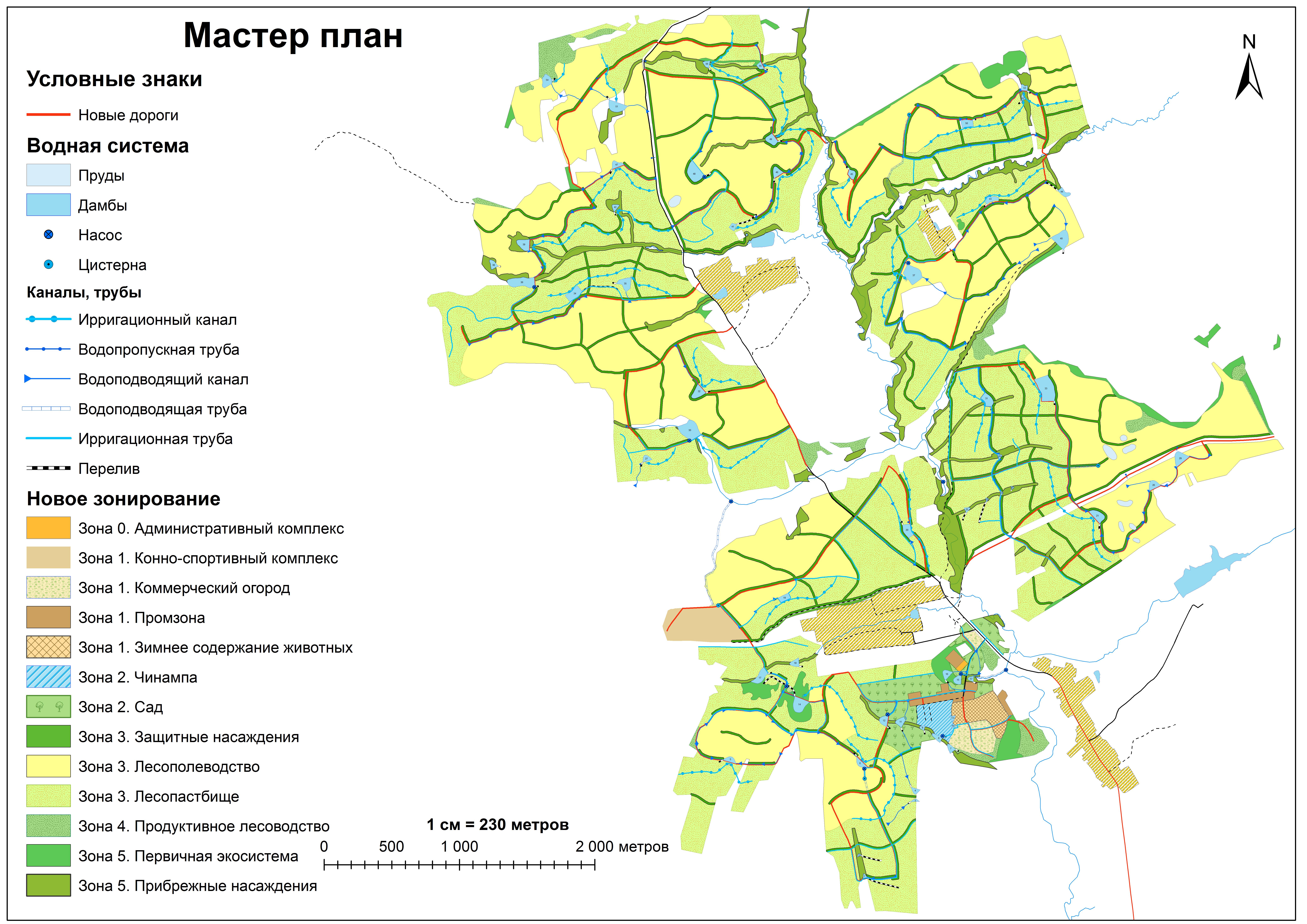 Целостное землеустройство — Крупномасштабные территории